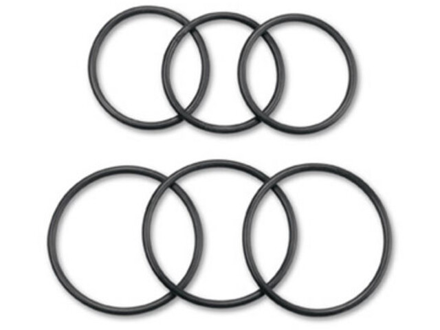 Garmin Edge Kit de caoutchoucs pour porte-vélos, black